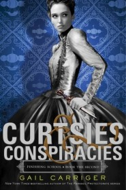 Cover- Curtsies and Conspiracies